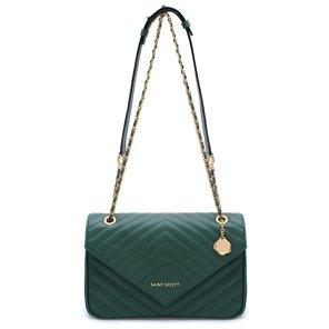 St. Scott LONDON Women's Erica Chain Shoulder Bag REMG1301 One Size Emerald Green