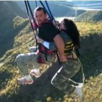 Harness Failure Leaves Woman Dangling At Nevis Bungy Swing - updated July 2016