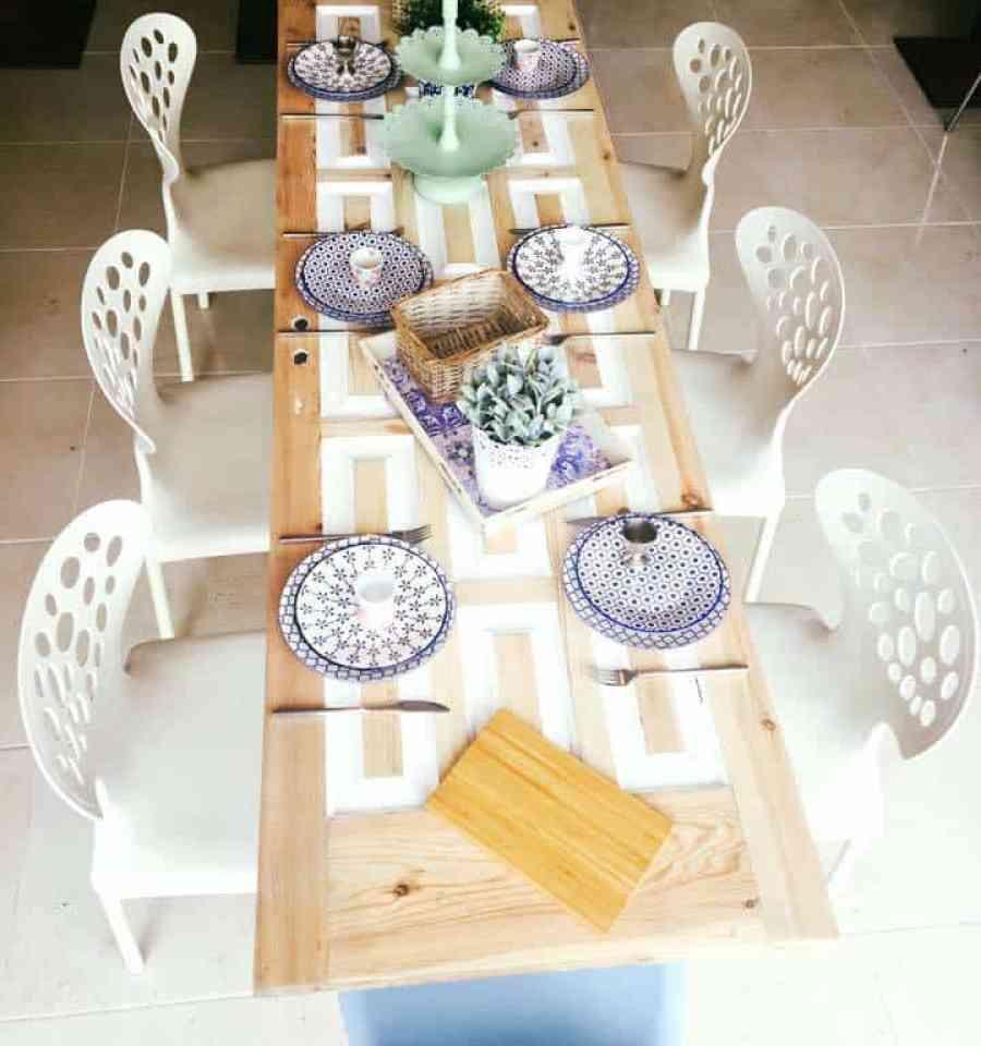 Emigreren Gran Canaria - Mi Casa - Must-try eetzaakje op Gran Canaria - Frank Hildebrand - Gedekte tafel