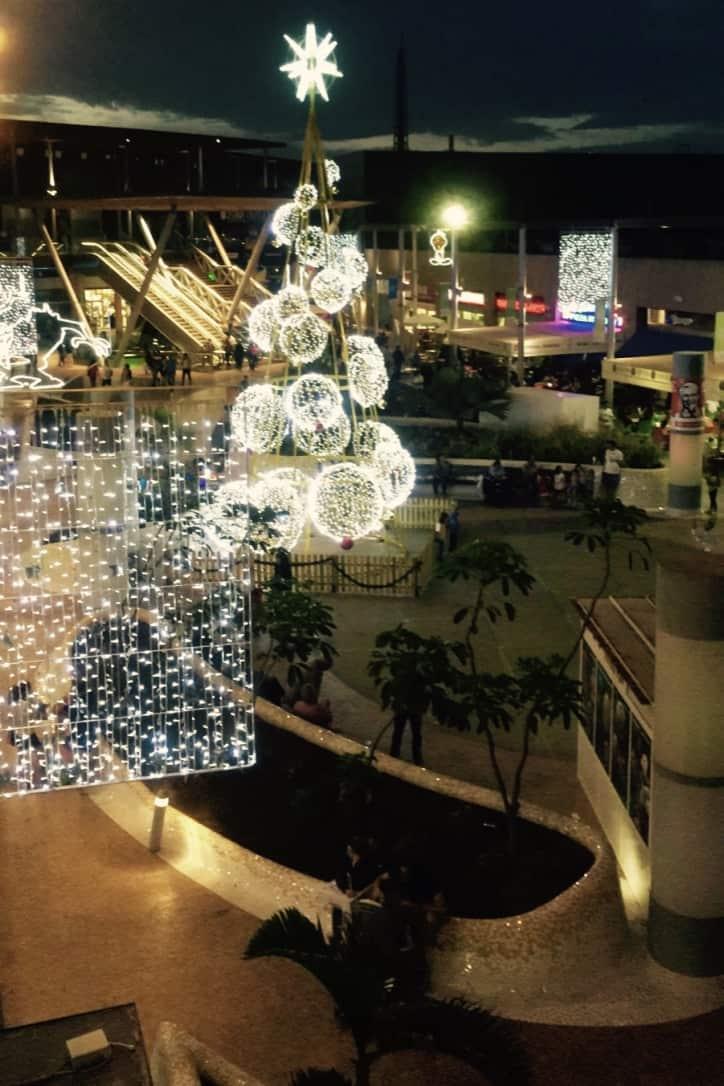 Emigreren Gran Canaria - Winkelcentrum Las Terrazas - Shoppen in kerstsfeer - Las Terrazas kerstsfeer