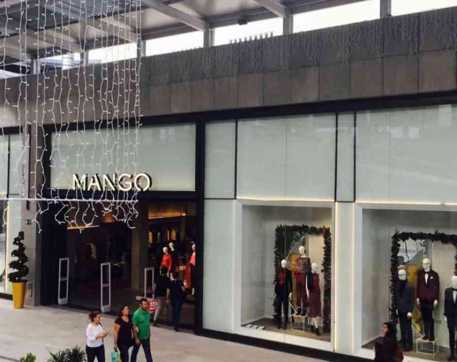 Emigreren Gran Canaria - Winkelcentrum Alisios op Gran Canaria - Winkelen tijdens kerst - Mango Gran Canaria