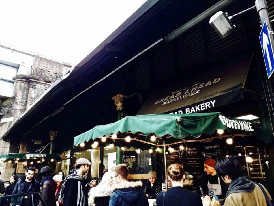 Reisverslag Londen deel 2 - Bezienswaardigheden + tips - Borough Market in Londen Foodies Paradise