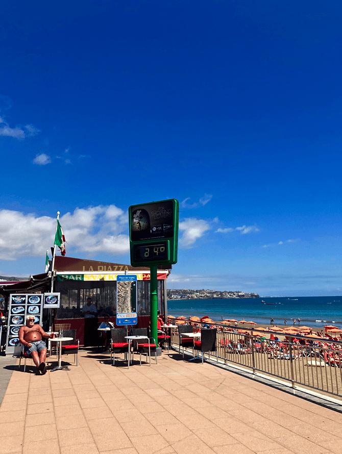 Emigreren Gran Canaria - Reisverslag Gran Canaria deel 3 - Las Palmas & Playa del Inglés - Anexo 2 strand