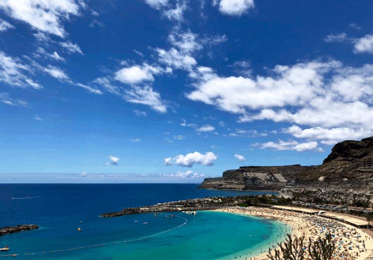 Emigreren Gran Canaria - Vakantie tips - Ontdek de prachtige westkust van Gran Canaria - Amadores strand Gran Canaria