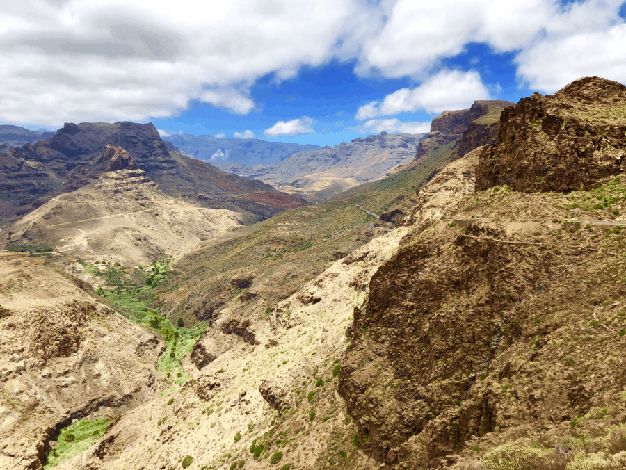 Berglandschap op Gran Canaria