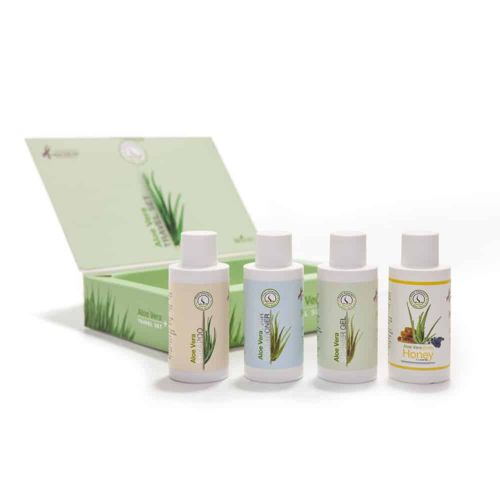 Emigreren Gran Canaria - Winactie Aloe Vera - Win een Aloe Vera travel kit met mini's
