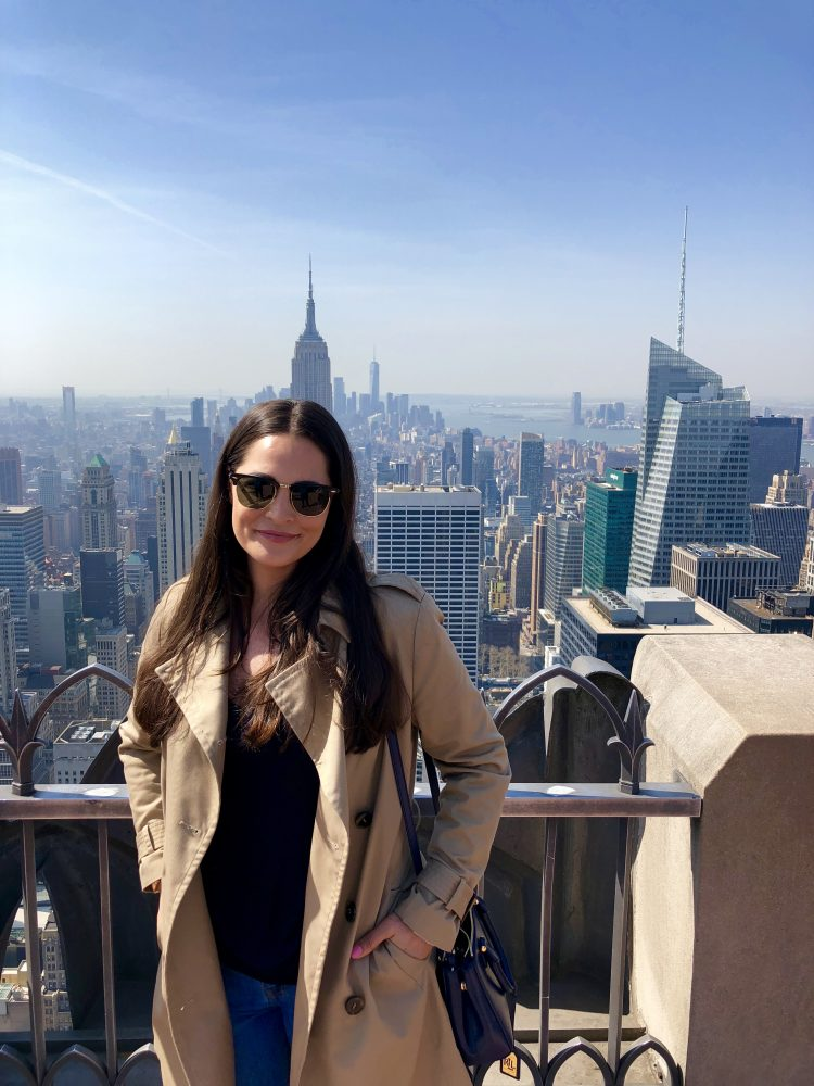 Emigreren Gran Canaria - Reisverslag - Hoogtepunten van New York – Amerika trip deel 1 - Melissa Top of the Rock Rockefeller Center New York