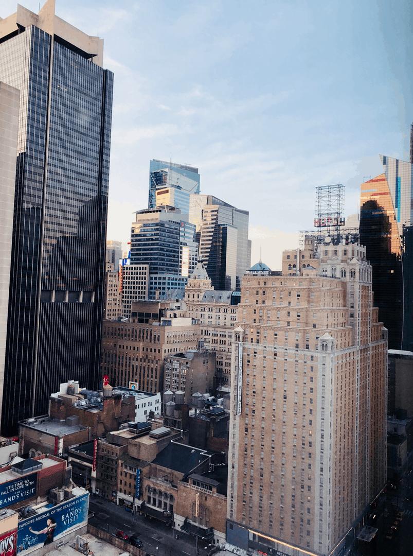 Emigreren Gran Canaria - Reisverslag - Hoogtepunten van NYC - Amerika reis deel 3 - Manhattan View