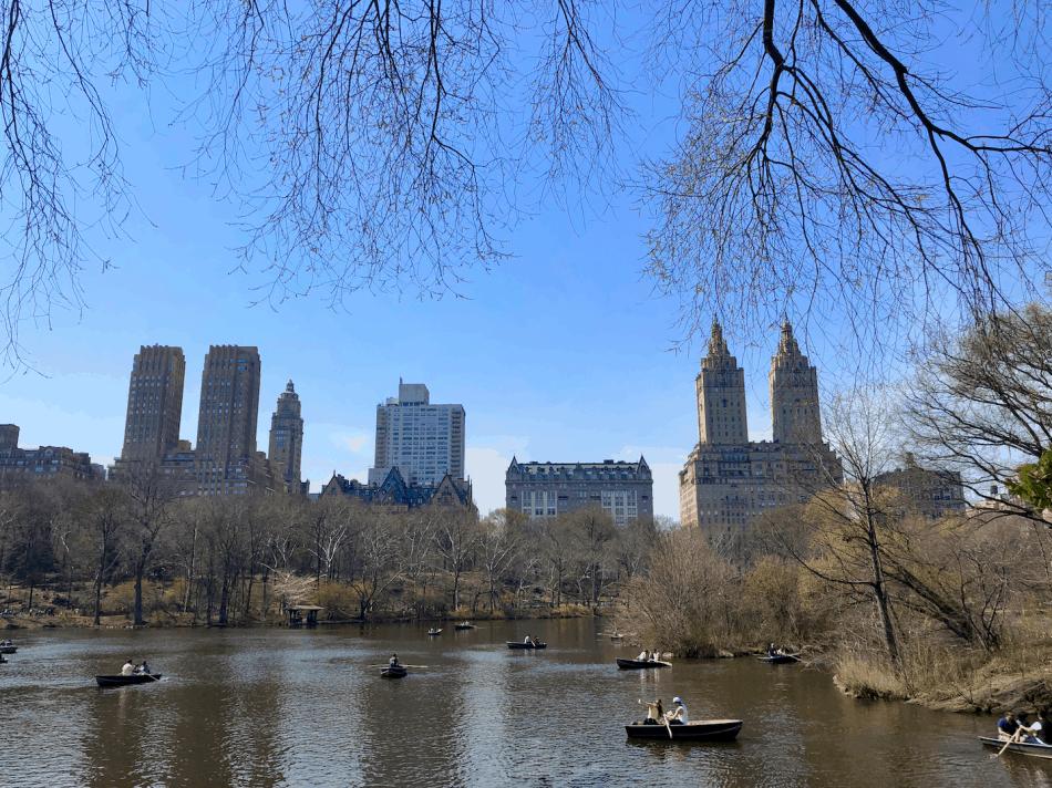 Emigreren Gran Canaria - Reisverslag - Hoogtepunten van New York City – Amerika trip deel 2 - Central Park The Lake
