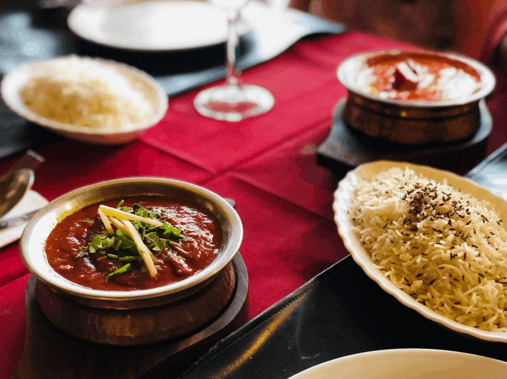 Indiaas eten bij Taste of India