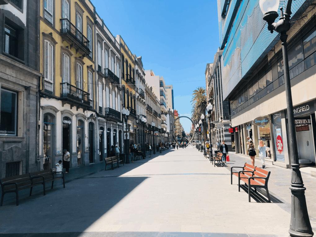 Winkelen op Gran Canaria in Triana Las Palmas