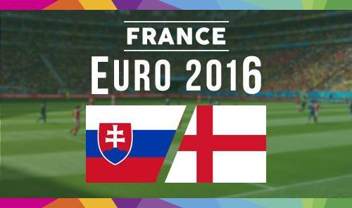 Anglia Slovacia Euro 2016