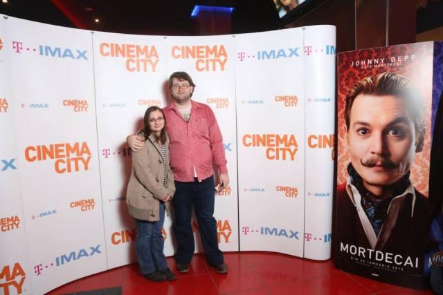 Poza de la avanpremiera filmului MortDeCai