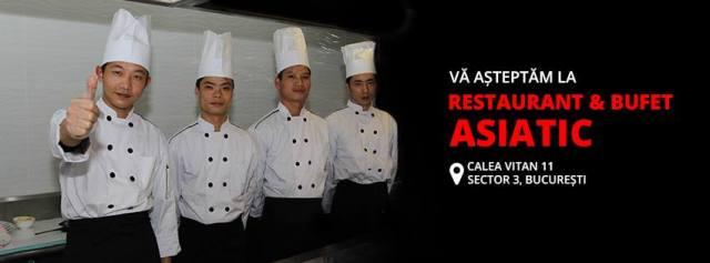 Cel mai mare restaurant asiatic din Bucuresti