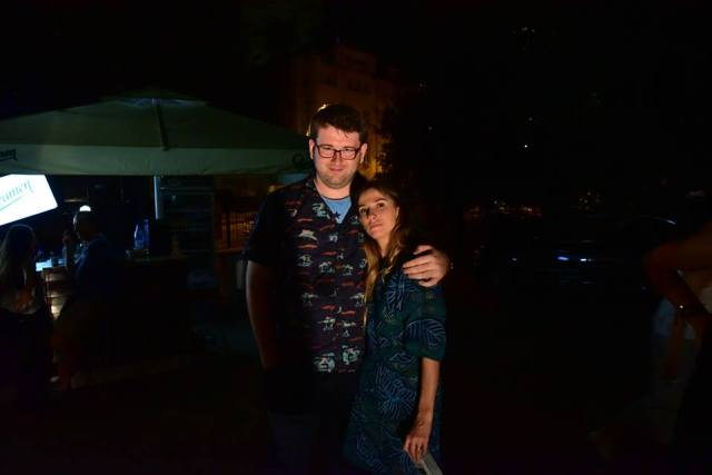 Ea este Dana Rogoz, iar poza este facuta la petrecerea de la finalul UnderCloud 2015. In spectacol ea o interpreteaza pe Eva