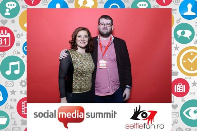 Emil Calinescu Marta Usurelu Social Media Summit 2015