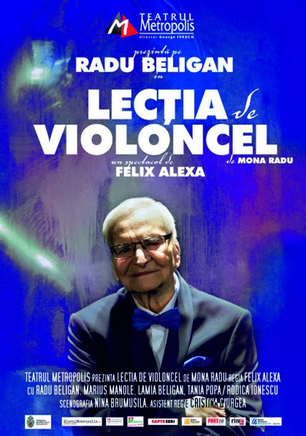 Lectie de violoncel Poster