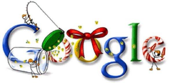Asa arata Logo-ul Google de Craciun, in 2011.