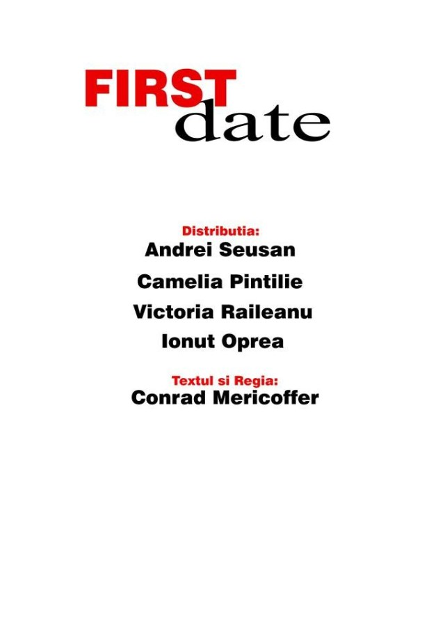 Poster First Date