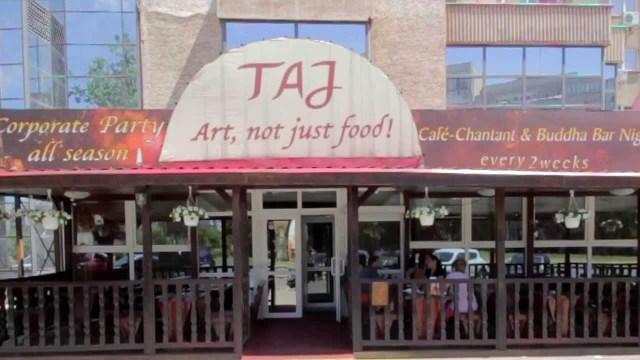 Restaurantul TAJ exterior