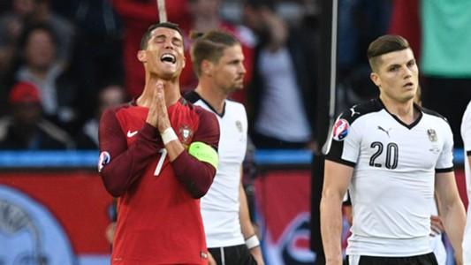 Ronaldo Portugalia Austria 2016
