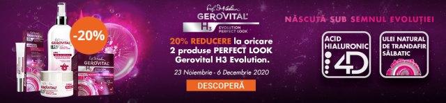 cele mai bune cosmetice gerovital H3 classic