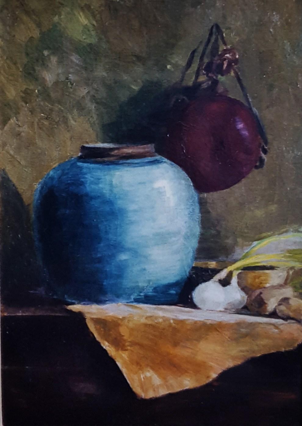 Emil Carlsen : The blue vase, 1903.