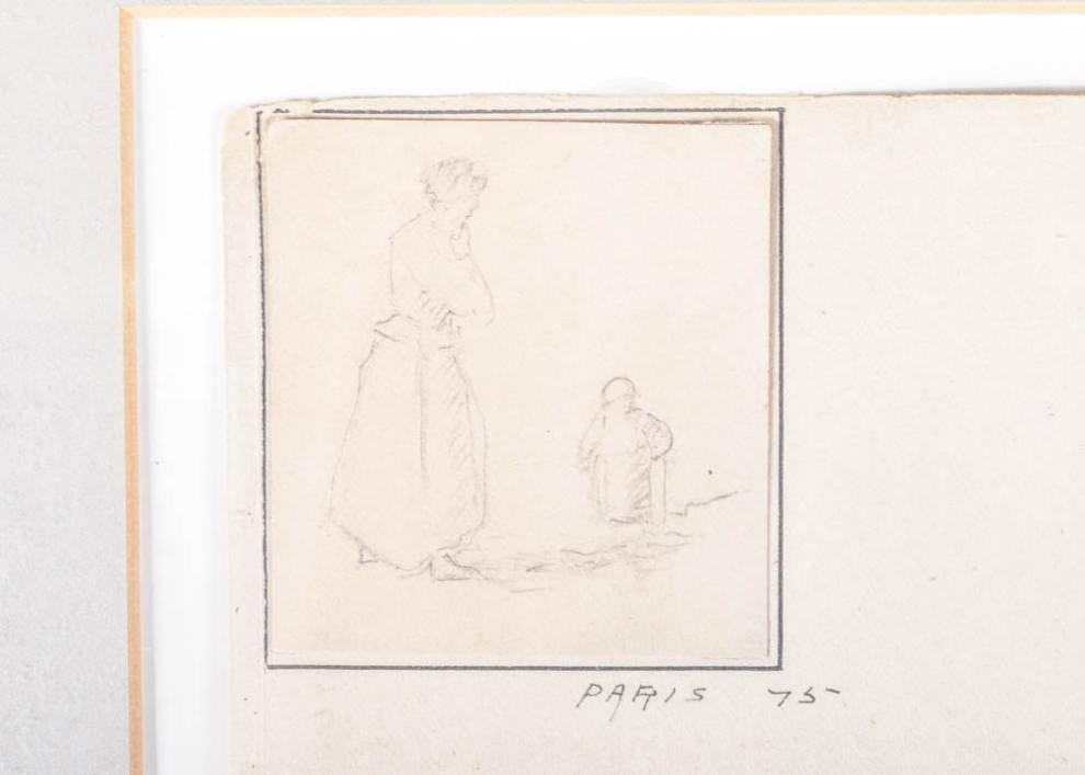 Emil Carlsen : Drawing compilation, ca.1875-1876.