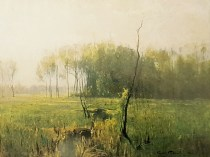 Emil Carlsen Summer Mist, 1882