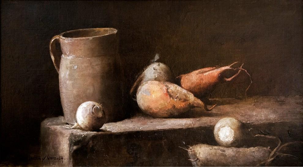 Emil Carlsen : The root cellar, 1884.