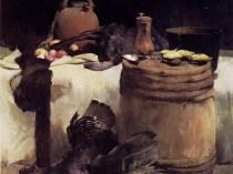 Emil Carlsen Thanksgiving still life, 1891