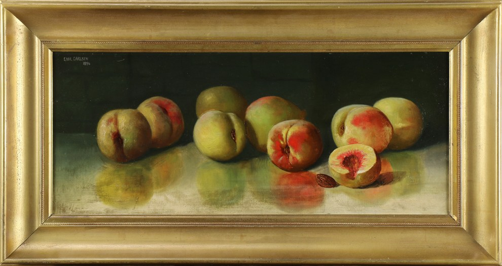 Emil Carlsen, Still Life with Peaches, 1894