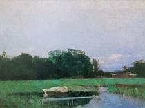Emil Carlsen Two Dories 1895