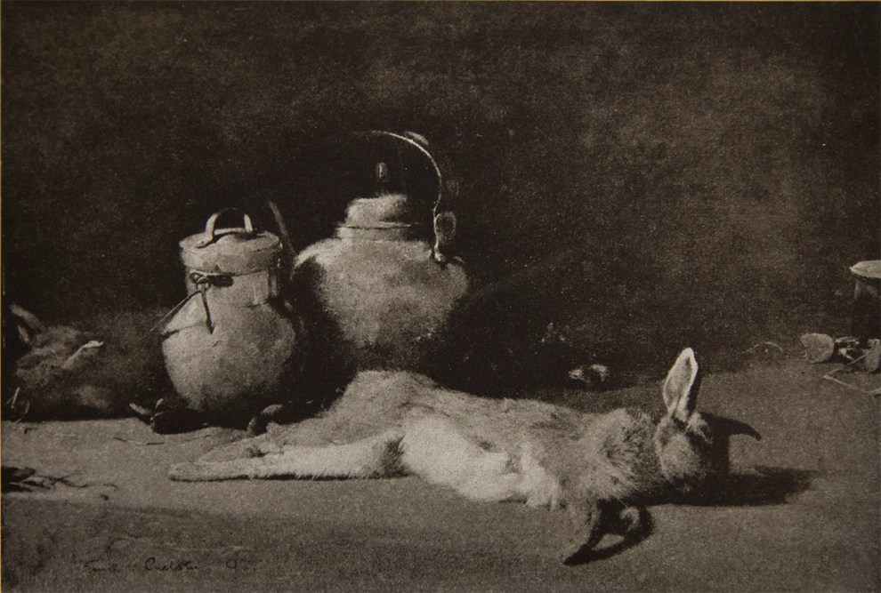Emil Carlsen Still Life with Rabbit, 1897