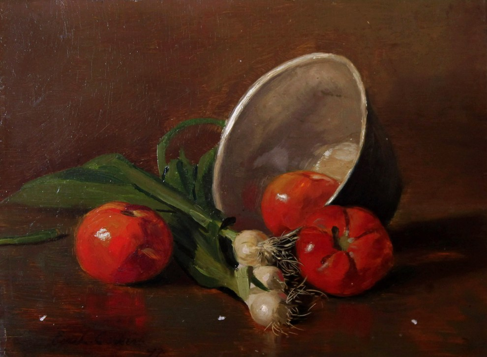 Emil Carlsen Tomatoes and Leeks, 1897