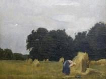 Emil Carlsen : Peasant in the field, 1871.
