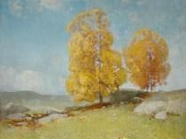 Emil Carlsen : Autumn landscape, 1904.