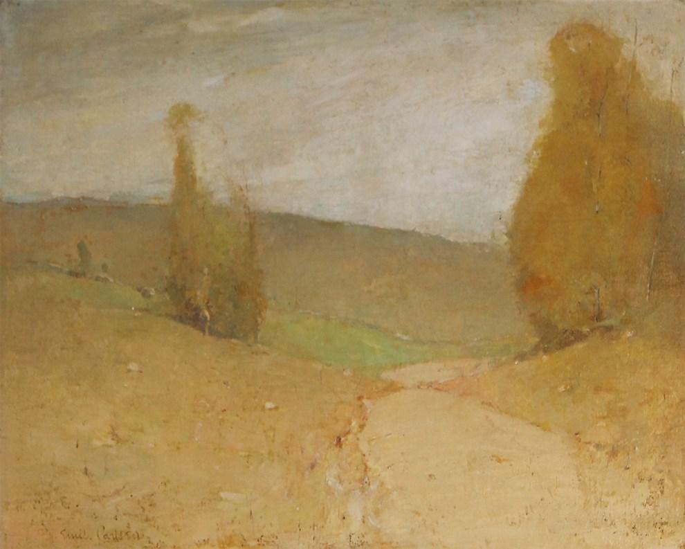 Emil Carlsen : Landscape, ca.1905.