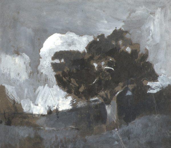 Emil Carlsen Windswept Cypress, ca.1907