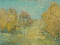 Autumn Morning - Fading Moon (also known as Late September), c.1906