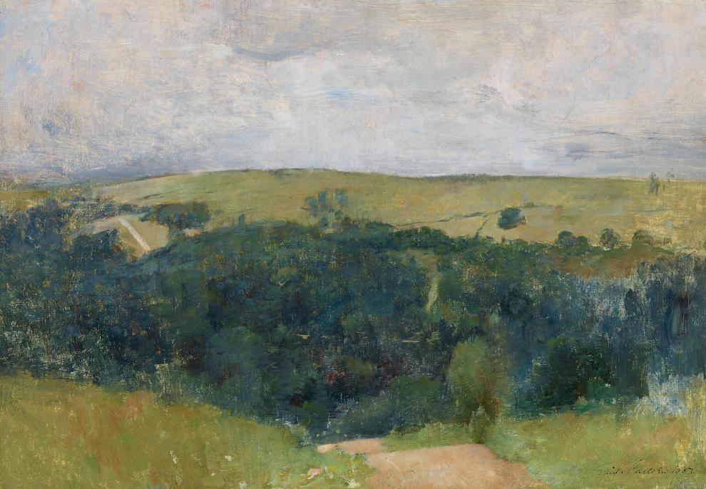 Emil Carlsen : Connecticut Hills (Canaan Mountains), 1907.