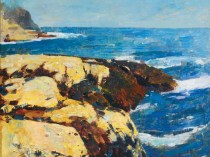 Emil Carlsen Barnacled Rocks, 1908
