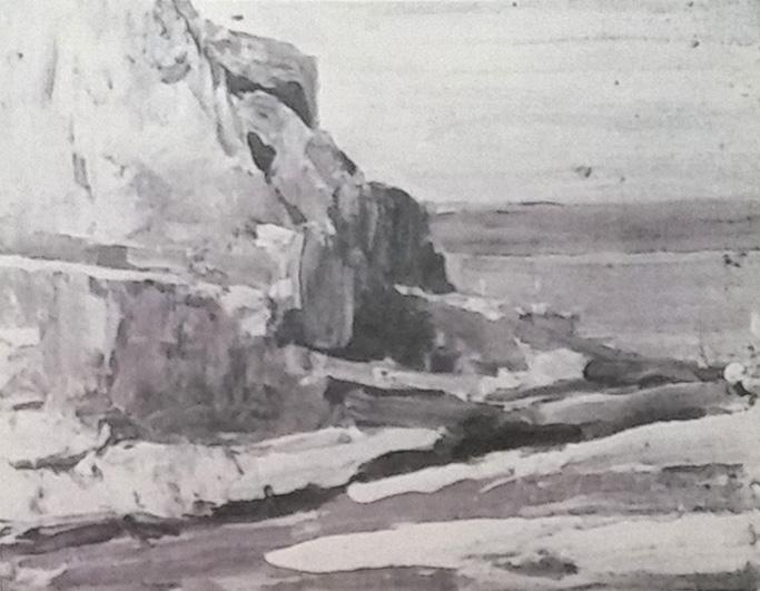 Emil Carlsen Coastal Scene, c.1909