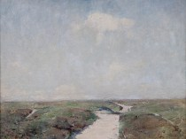 Emil Carlsen : Long Island sand dunes, afternoon, ca.1909.