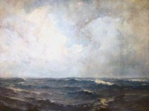 Emil Carlsen : The Open sea, 1909.