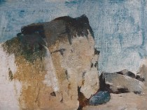 Emil Carlsen : Rock formation, ca.1909.