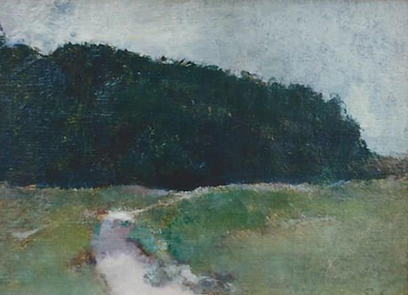 Emil Carlsen : Winding path, ca.1910.