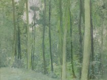 Emil Carlsen Wooded landscape, ca.1910
