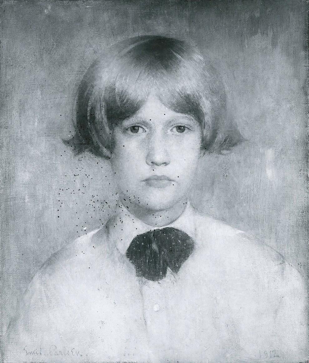 Emil Carlsen Portrait of Dines (also called Dines at Eleven), 1912