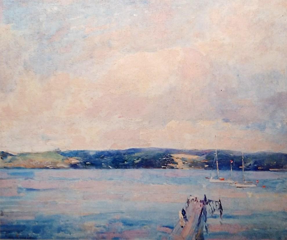 Emil Carlsen Landscape and Marine, 1912